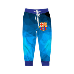FC Barcelona blue polygon 2018