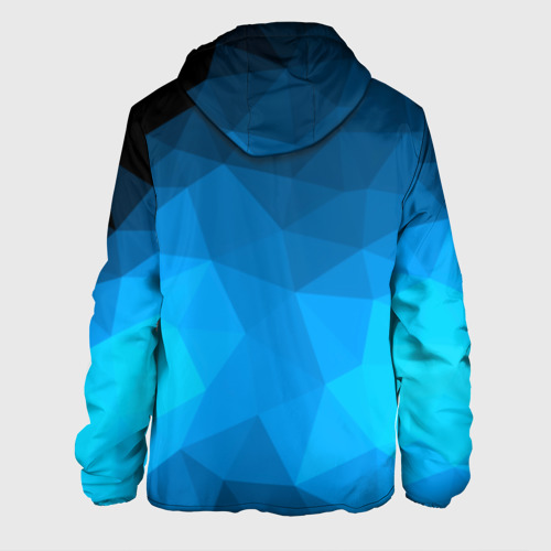Мужская куртка 3D  Фото 02, FC Barcelona polygon 2018