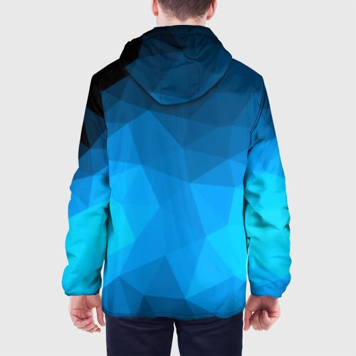 Мужская куртка 3D  Фото 05, FC Barcelona polygon 2018