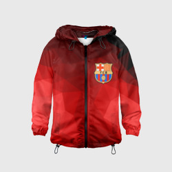 FC Barcelona red polygon 2018