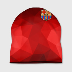 FC Barcelona red polygon 2018