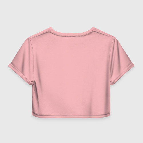 Женская футболка Crop-top 3D Годзилла Фото 01