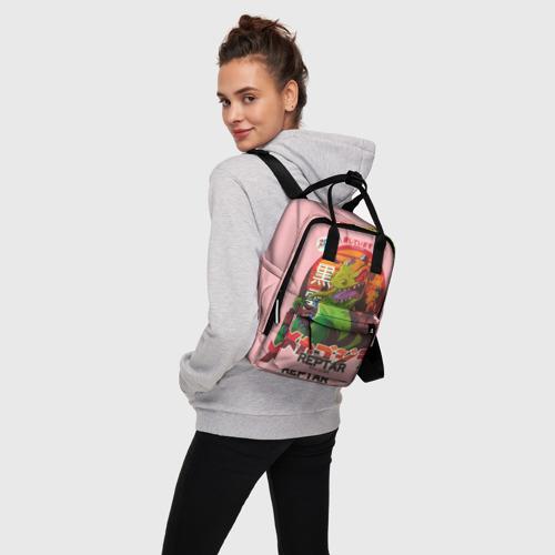 Женский рюкзак 3D Годзилла Фото 01