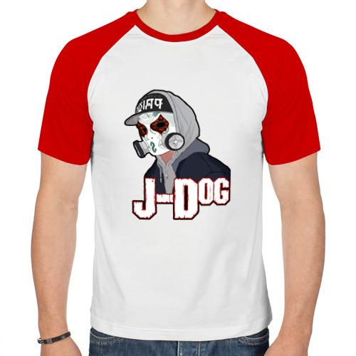 Мужская футболка реглан  Фото 01, J-Dog из Hollywood Undead