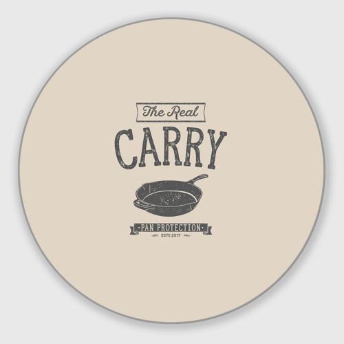 Коврик для мышки круглый The Real Carry - Pan Protectio Фото 01