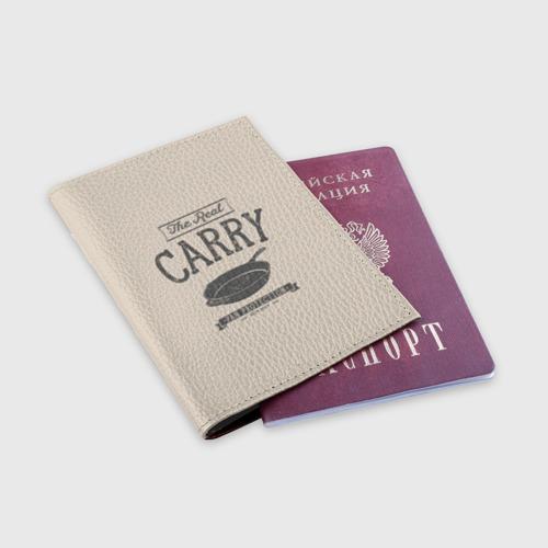 Обложка для паспорта матовая кожа The Real Carry - Pan Protectio Фото 01