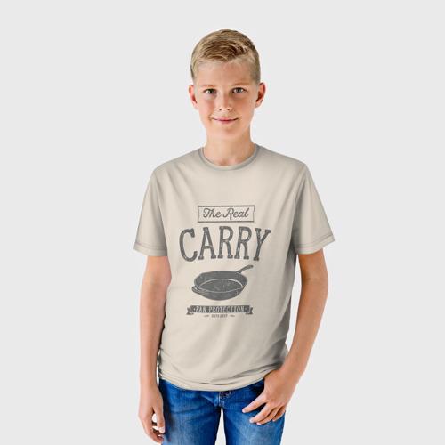 Детская футболка 3D The Real Carry - Pan Protectio Фото 01