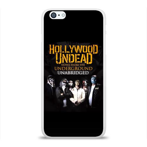 Чехол для Apple iPhone 6Plus/6SPlus силиконовый глянцевый  Фото 01, Hollywood Undead Underground
