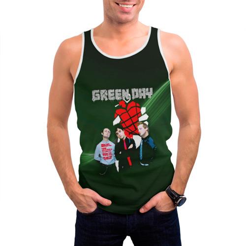 Мужская майка 3D  Фото 03, Группа Green Day