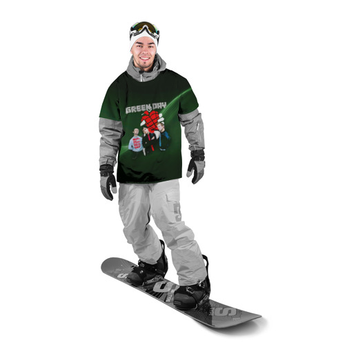 Накидка на куртку 3D Группа Green Day Фото 01