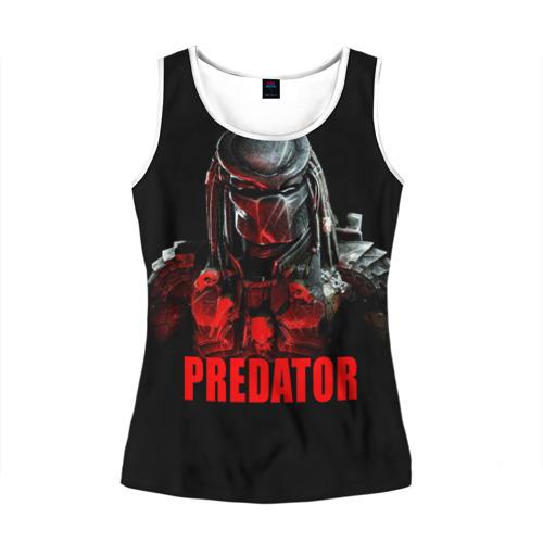 Женская майка 3D  Фото 01, Predator
