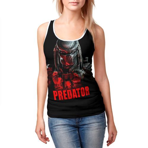 Женская майка 3D  Фото 03, Predator