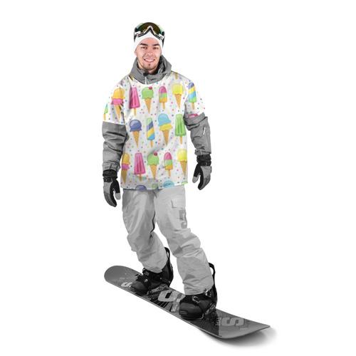 Накидка на куртку 3D  Фото 03, мороженное