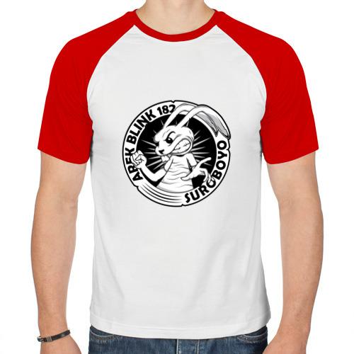 Мужская футболка реглан  Фото 01, Заяц Blink-182