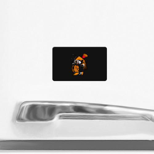 Магнит виниловый Visa  Фото 02, Заяц эксгибиционист Blink-182
