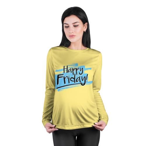 Женский лонгслив 3D для беременных  Фото 04, Happy Friday