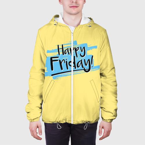 Мужская куртка 3D  Фото 04, Happy Friday
