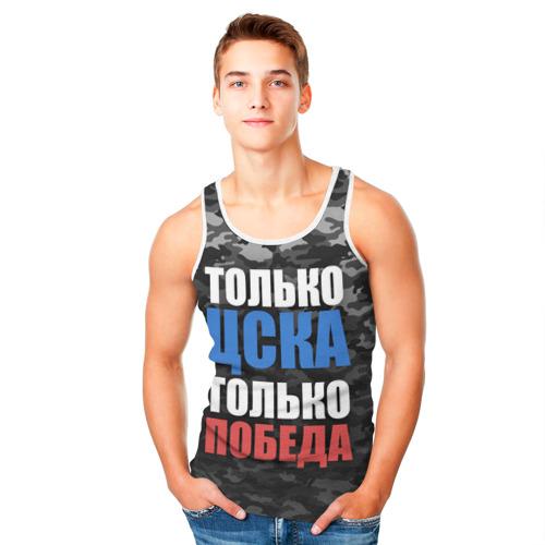 Мужская майка 3D  Фото 05, ЦСКА