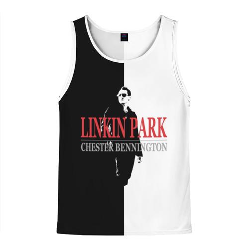 Мужская майка 3D  Фото 01, Chester Bennington Linkin Park