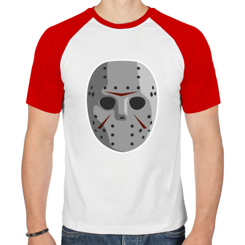 Мужская футболка реглан  Фото 01, Jason Voorhees
