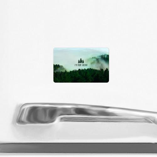 Магнит виниловый Visa  Фото 02, Сибирь