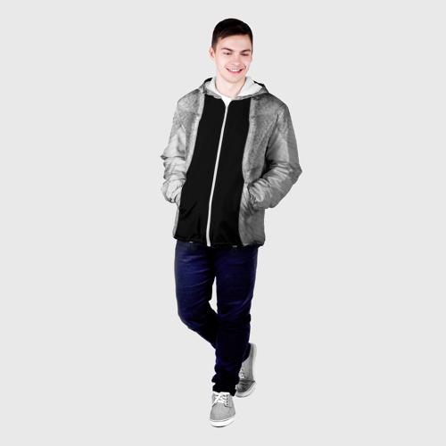 Мужская куртка 3D  Фото 03, Крылья ангела