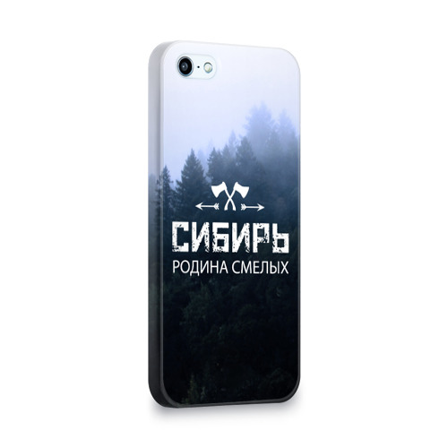 Чехол для Apple iPhone 5/5S 3D  Фото 02, Сибирь