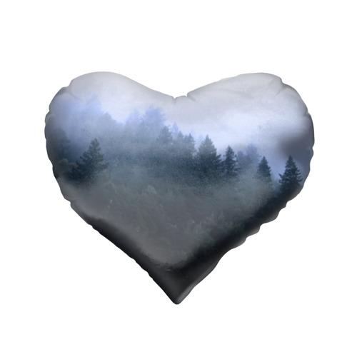 Подушка 3D сердце  Фото 02, Сибирь
