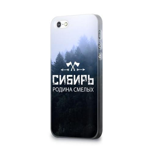 Чехол для Apple iPhone 5/5S 3D  Фото 03, Сибирь