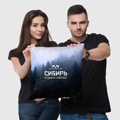 Подушка 3D  Фото 05, Сибирь
