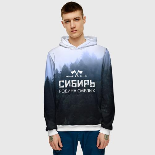 Мужская толстовка 3D  Фото 03, Сибирь