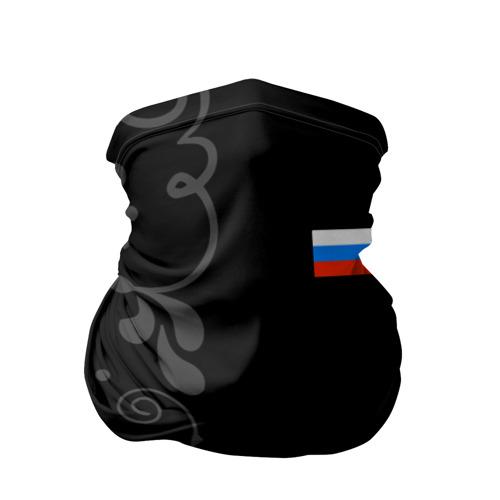 Бандана-труба 3D Russia - Black Collection