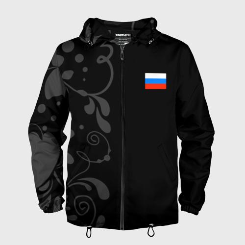 Мужская ветровка 3D Russia - Black Collection Фото 01