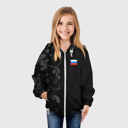 Детская ветровка 3D Russia - Black Collection Фото 01