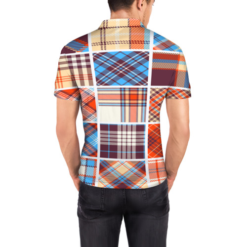 Мужская рубашка поло 3D  Фото 04, Геометрия моды