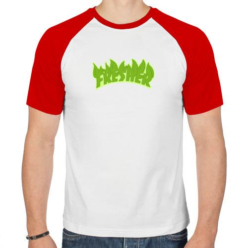Мужская футболка реглан  Фото 01, Fresher