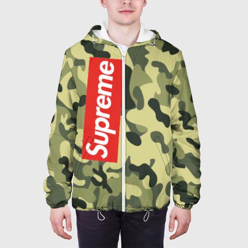 Мужская куртка 3D  Фото 04, Supreme military III