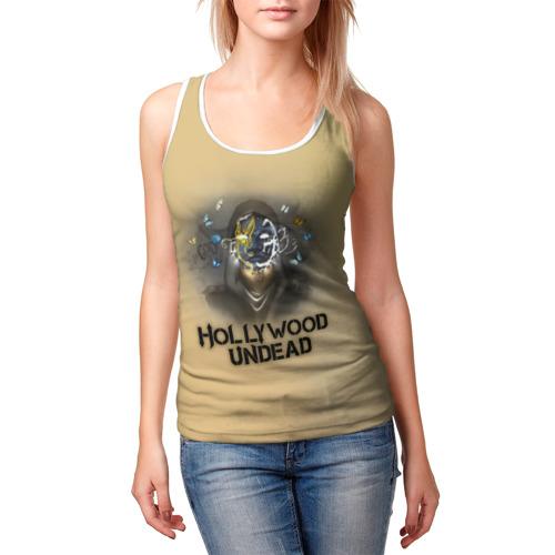 Женская майка 3D  Фото 03, Hollywood Undead