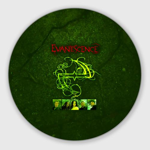Коврик для мышки круглый Группа Evanescence Фото 01