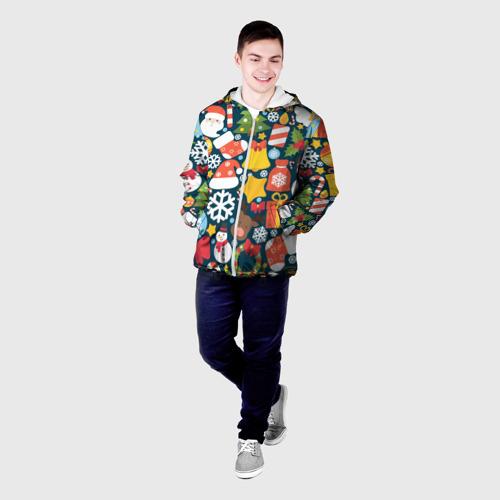 Мужская куртка 3D  Фото 03, Новогодний набор
