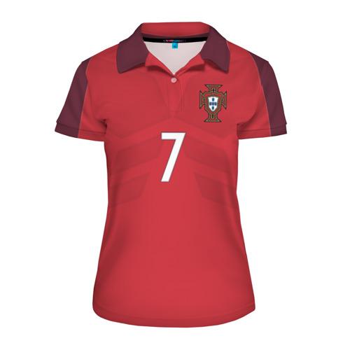 Женская рубашка поло 3D Ronaldo 17-18