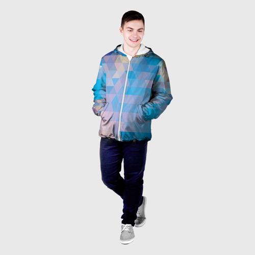 Мужская куртка 3D  Фото 03, Geometrical