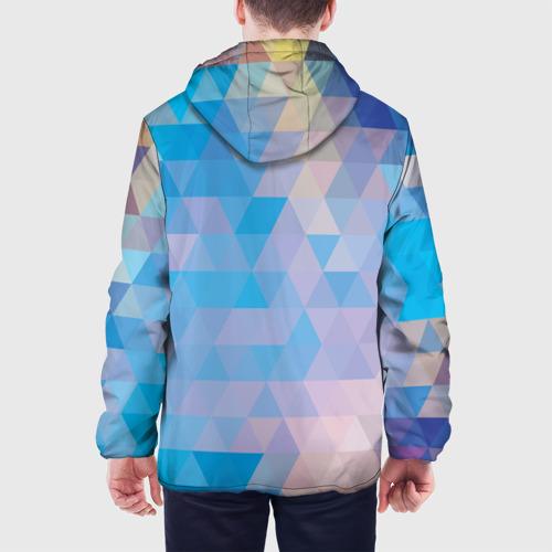 Мужская куртка 3D  Фото 05, Geometrical