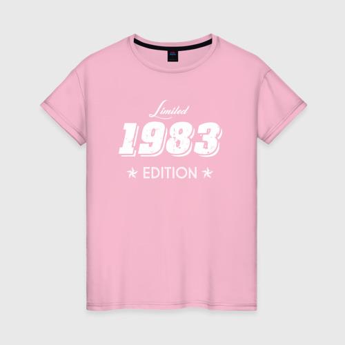 Женская футболка хлопок limited edition 1983 Фото 01