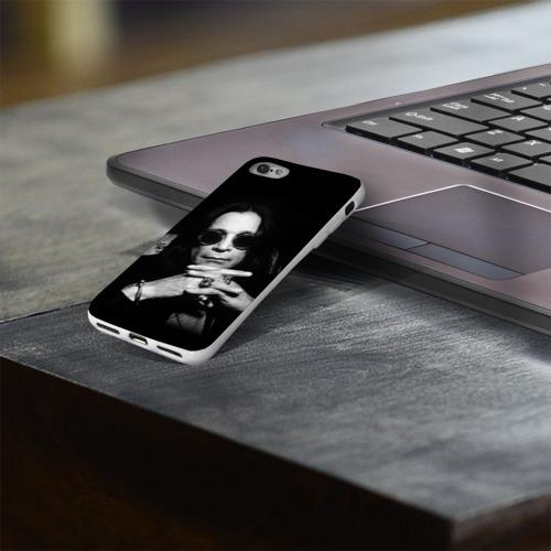 Чехол для Apple iPhone 8 силиконовый глянцевый  Фото 03, Оззи Осборн