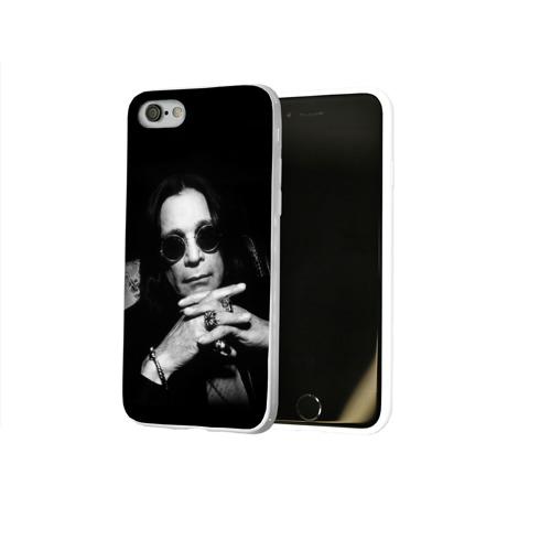 Чехол для Apple iPhone 8 силиконовый глянцевый  Фото 02, Оззи Осборн
