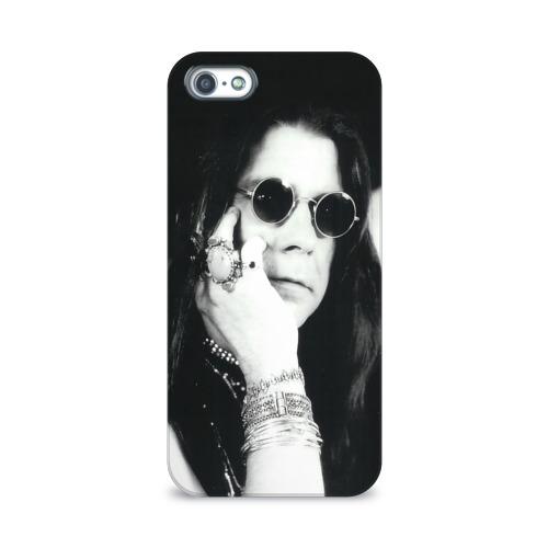 Чехол для Apple iPhone 5/5S 3D  Фото 01, Оззи Осборн