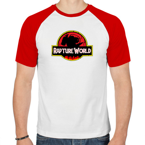Мужская футболка реглан  Фото 01, Rapture World