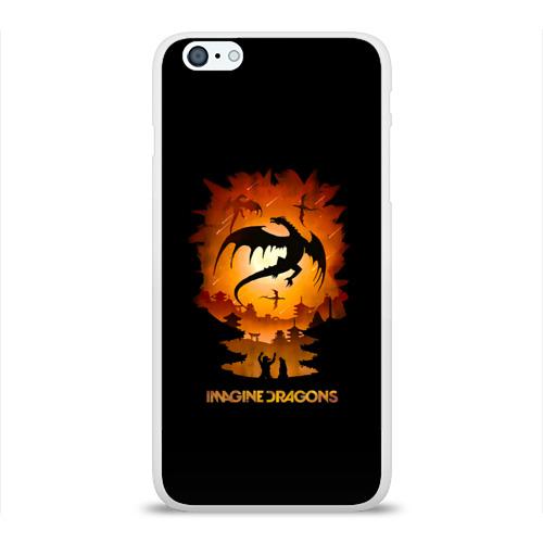 Чехол для Apple iPhone 6Plus/6SPlus силиконовый глянцевый  Фото 01, Драконы Imagine Dragons