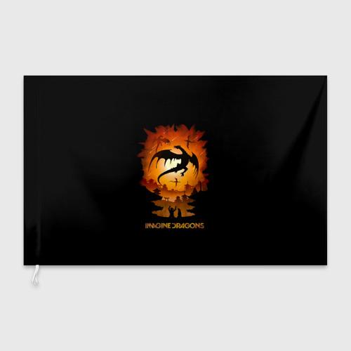 Флаг 3D  Фото 03, Драконы Imagine Dragons